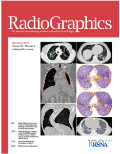 Cover of Radiographics 2015